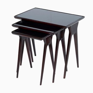Tables Empilables Mid-Century, Italie