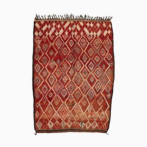Berber Carpet from Beni MGuild, 1980s