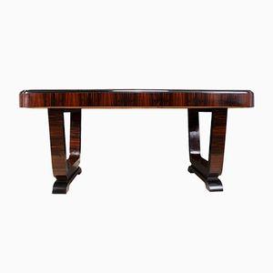 Art Deco Macassar Ebony Table, 1930s