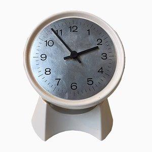 Horloge de Table Pivotante Mid-Century en Grès de Søholm, 1970s