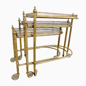 Serving Trolley from Maison Bagues, 1950s