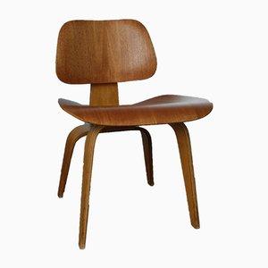 DCW Stuhl aus Mahagoni von Charles & Ray Eames für Herman Miller, 1940er