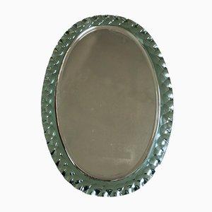 Italienischer Mid-Century Spiegel von Max Ingrand für Fontana Arte, 1950er