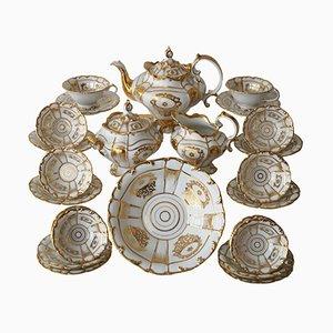 Servizio da tè Old Paris in porcellana, fine XIX secolo