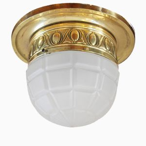 Lampada da soffitto antica Art Nouveau