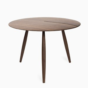 Tavolino da caffè Orio in noce di Alessandro Stabile e Dario Gaudio per Internoitaliano