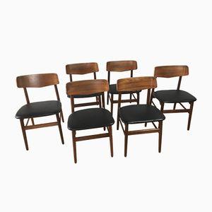 Chaises Mid-Century, 1960s, Set de 6