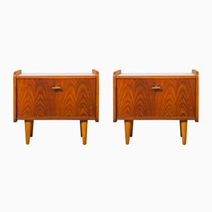 Danish Nightstands in Teak, 1960s, Set of 2
