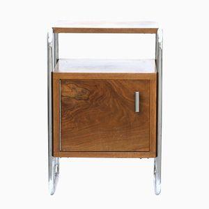 Vintage Wooden Veneered N1 Bedside Table from Kovona