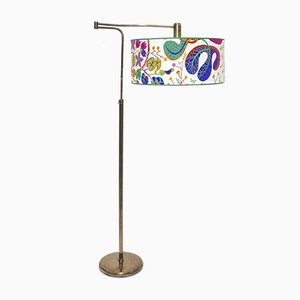 Art Deco Neolift Floor Lamp by J.T. Kalmar for Kalmar, 1930s