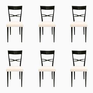 Mid-Century Dining Chairs by Melchiorre Bega, Set of 6