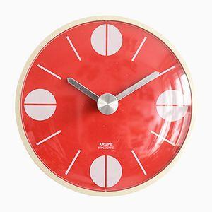 Horloge Murale Krups Mid-Century de Atlanta, 1974