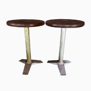 Vintage Bistro Tables from Fischel, Set of 2