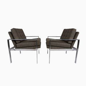 Mid-Century Modern-Style Armchairs by Harvey Probber, Set of 2