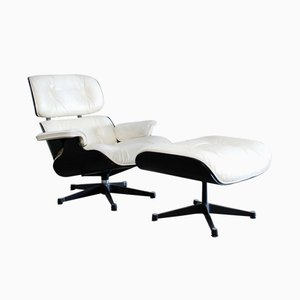 Lounge Chair & Ottoman by Charles & Ray Eames for Vitra, 1960s