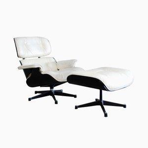 Mid-Century Sessel & Ottomane von Charles & Ray Eames für Vitra