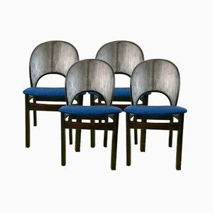 Sedie di Glostrup Mobelfabrik, anni '70, set di 4