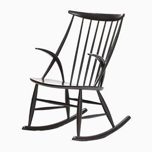 Dänischer Moderner Number 3 Schaukelstuhl von Illum Wikkelso für Niels Eilersen, 1960er