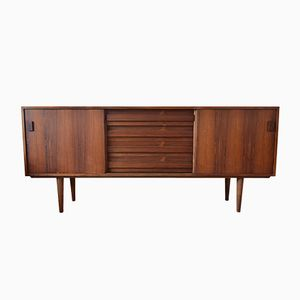 Vintage Danish Rosewood Lowboard from Viby Møbelfabrik, 1960s