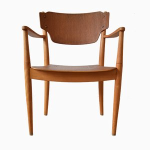Vintage Danish Portex Teak Armchair by Peter Hvidt and Orla Mølgaard-Nielsen