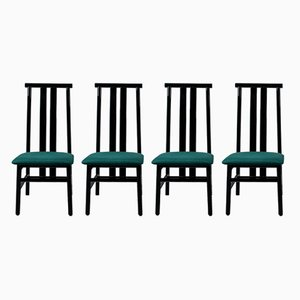 Zea Chairs by Annig Sarian for Tisettanta, 1980s, Set of 4