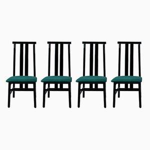 Zea Stühle von Annig Sarian für Tisettanta, 1980er, 4er Set