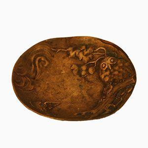 Antike Messing Schale von Berndorf