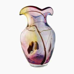 Vintage Polish Vase by Adam Jabłoński, 1980s