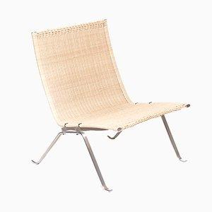 PK22 Stuhl von Poul Kjaerholm für E. Kold Christensen, 1950er