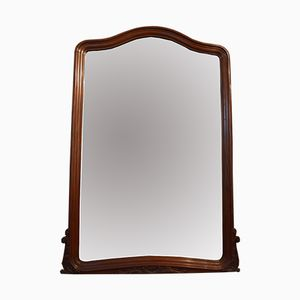 Antique Beveled Louis XV-Style Mirror