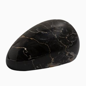 Portoro Marble Paperweight in Mouse Shape from FiammettaV Home Collection