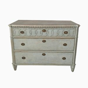 Antique Gustavian Chest of Drawers, 1860s
