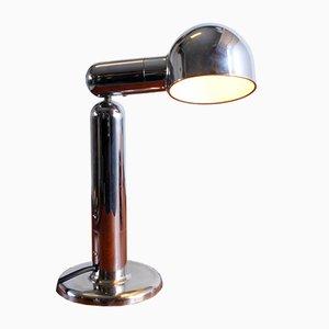 Verchromte Vintage Tischlampe von Cosack