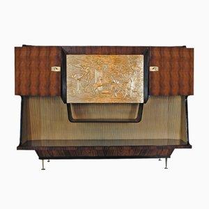 Vintage Italian Bar Cabinet by Osvaldo Borsani