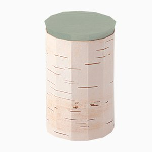 Plain Tuesa Container with Mint Lid by Anastasiya Koshcheeva for Moya
