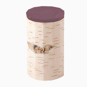Plain Tuesa Container with Purple Lid by Anastasiya Koshcheeva for Moya, 2018