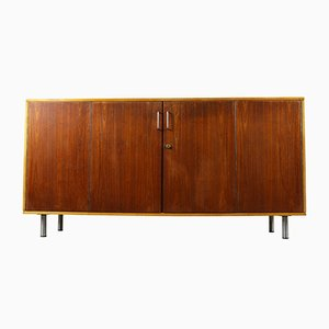 Mueble de salón DB02 de Combex Series de haya y teca de Cees Braakman para Pastoe, años 50