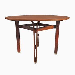 Tavolo vintage rotondo in legno di Ico & Luisa Parisi