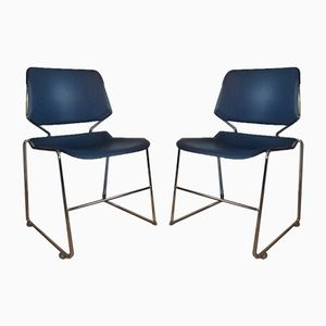 Chaises Vintage par Matrix Krueger pour Eurosit, 1980s, Set de 2