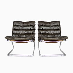 Danish Side Chairs by Georg Thams for Vejenpolster Møbelfabrik, 1960s, Set of 2