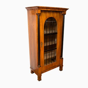 Antique Biedermeier Bookcase, 1820s