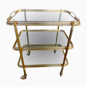 Mid-Century French Trolley from Maison Bagues, 1950s
