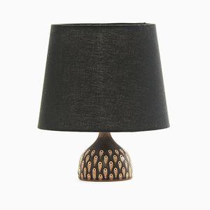 Stoneware Table Lamp by Gunnar Borg for Gunnars Keramik Höganäs, 1960s
