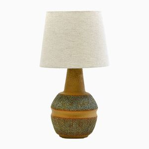 Vintage Danish Stoneware Table Lamp by Einar Johansen for Søholm