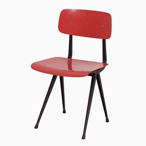 Roter Result Chair von Friso Kramer & Wim Rietveld für Ahrend De Cirkel, 1960er