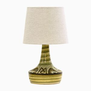 Vintage Danish Stoneware Table Lamp by Noomi Backhausen & Arne Finne for Søholm