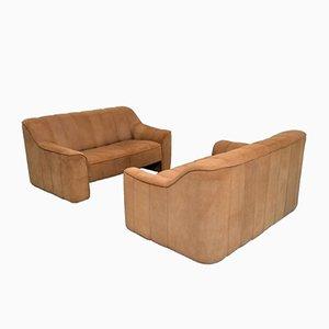 Vintage DS 44 2-Sitzer Sofas von de Sede, 1970er, 2er Set