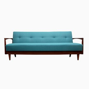 Petrol Blue Daybed, 1960s