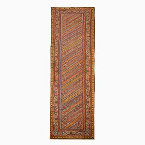 Antique Multicolored Feraghan Rug