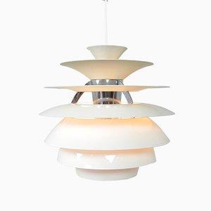 Dänische Vintage Schneeflocken Deckenlampe von Poul Henningsen für Louis Poulsen, 1970er